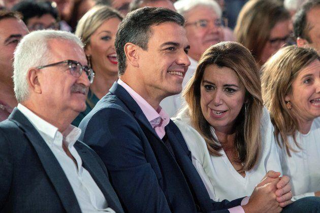 Pedro Sánchez y Susana