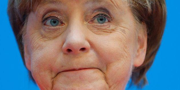 La canciller alemana, Angela Merkel, este