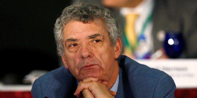 Ángel Maria Villar en un congreso de la FIFA en México. REUTERS/Henry