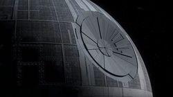 Dos aficionados a 'Star Wars' recrean la construcción de la 'Estrella de la