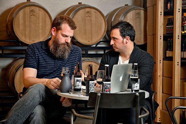 Sami Claret (izq) y Javier Aldea (der), fundadores de Nómada