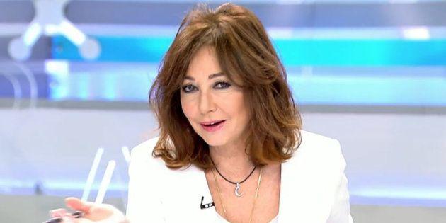 Ana Rosa Quintana acusa a Pedro Sánchez de haber sido