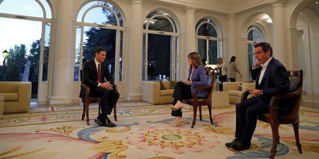 Esta imagen de la entrevista de Sánchez en TVE está generando mucho cachondeo justo por lo que estás