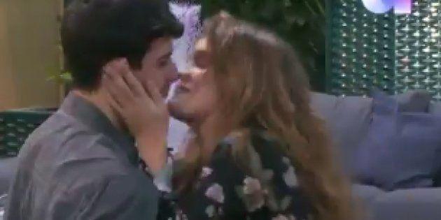 El comentado reencuentro de Amaia y Alfred (con beso incluido) al volver a la