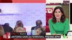 La 'pullita' de María Llapart a Ferreras tras lo que dijo en una entrega de