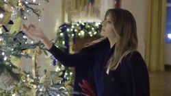 Sumérgete en la (intensa, muy intensa) Navidad de Melania