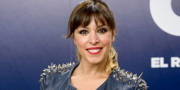 La cantante Gisela durante la presentación del programa 'OT. El