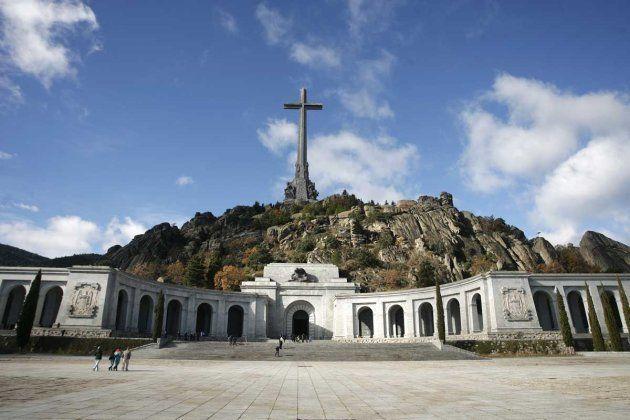 Imagen de archivo del Valle de los Caídos, en la sierra de