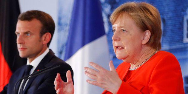 Macron y Merkel, este