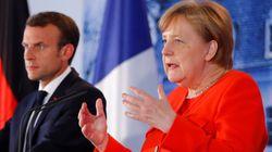 Merkel y Macron quieren un presupuesto común de la eurozona y reforzar las fronteras