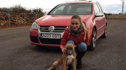 La joven de Villareal fue arrastrada al coche por su expareja antes de chocar contra una