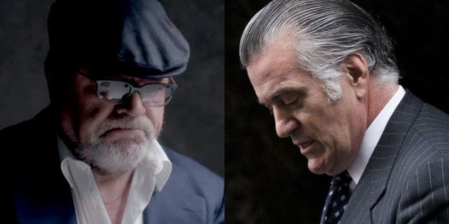 José Manuel Villarejo y Luis Bárcenas, en sendas fotos de