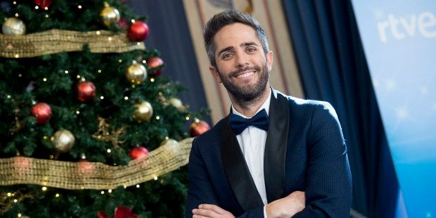 El presentador Roberto Leal, durante el brindis de Navidad de los presentadores de RTVE en Madrid el...