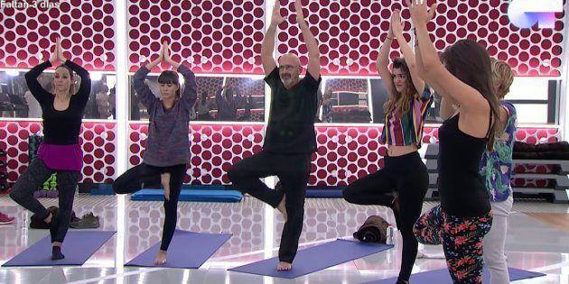 Última clase de yoga en OT