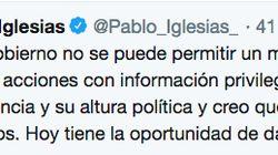 Iglesias, contra Borrell: