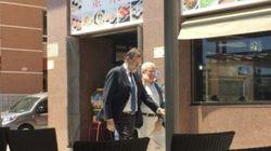 Rajoy toma posesión de su plaza de registrador de la propiedad en Santa