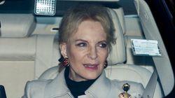 Una princesa británica pide perdón por llevar un broche racista a un almuerzo con Meghan