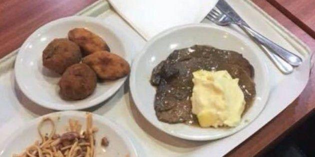 La trabajadora de un hospital arrasa con su crítica a los policías que protestaron por el menú de