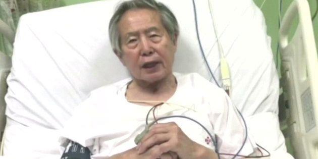 Alberto Fujimori, en una imagen