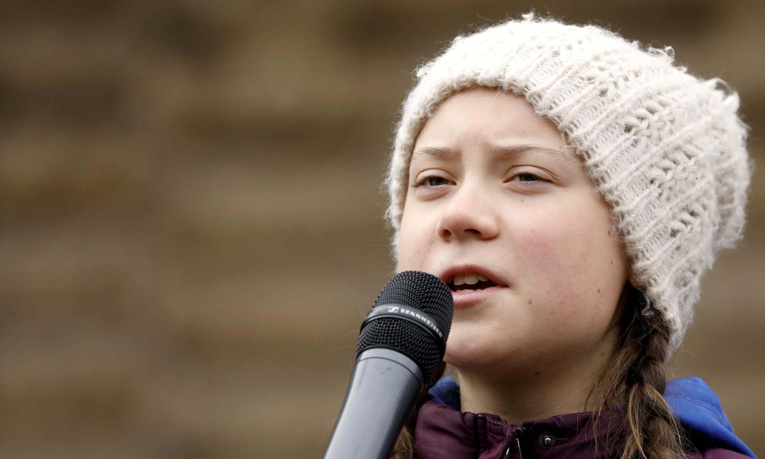 H 16χρονη Γκρέτα Τούνμπεργκ υποψήφια για το Νόμπελ