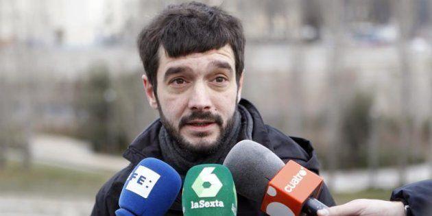 El diputado de Podemos, Pablo Bustinduy.