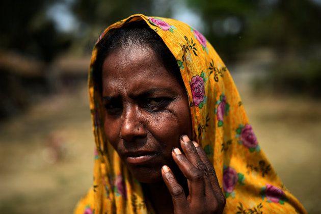Hasina Begum, de 30 años, refugiada