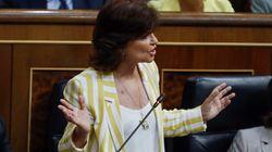 Carmen Calvo defiende que el Gobierno