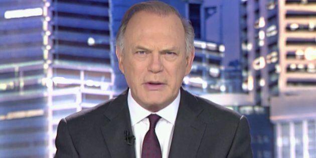 Nunca has visto a Pedro Piqueras (Informativos Telecinco)