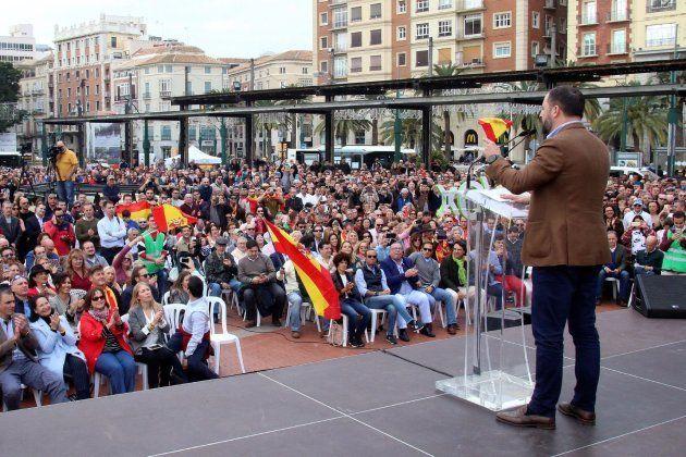 Acto en Málaga de