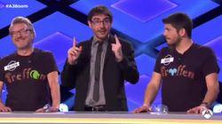 El corte en 'Boom' (Antena 3) que sorprendió a Juanra