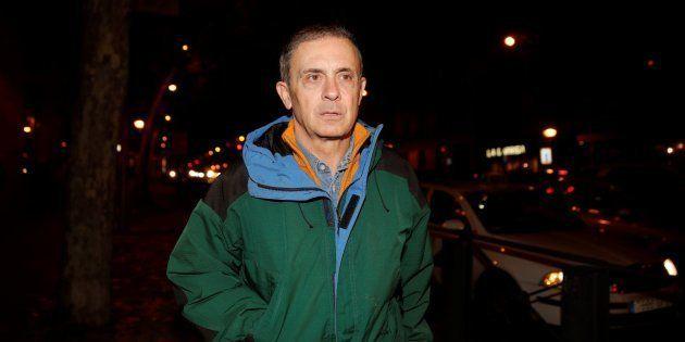 Jordi Pujol Ferrusola, a su llegada a la Audiencia Nacional tras salir de la prisión de Soto del Real....