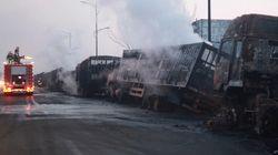 Al menos 22 muertos y otros 22 heridos en la explosión cerca de una planta química en