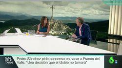 El brutal corte de Mamen Mendizábal al portavoz de la Fundación Franco en 'Más vale