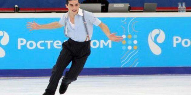 Imagen de archivo del patinador Javier