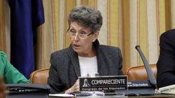 Rosa María Mateo pide disculpas al diputado del PP al que llamó