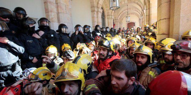 Protestas en el
