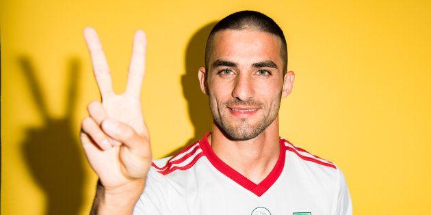 El jugador de la selección de Irán Milad