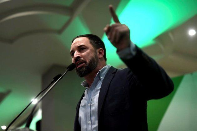 El presidente de Vox, Santiago