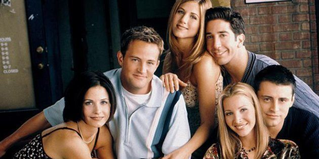 Monica, Chandler, Rachel, Ross, Phoebe y Joey: los seis protagonistas de