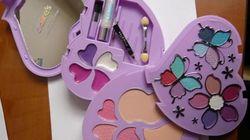 Detectado amianto en un kit de maquillaje infantil de