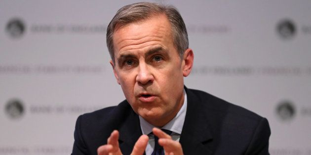 El gobernador del Banco de Inglaterra oMark