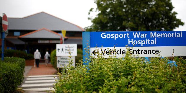 Entrada del Hospital Gosport War
