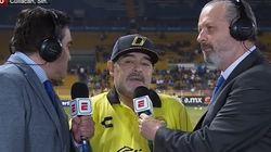 Diego Armando Maradona da una entrevista absolutamente