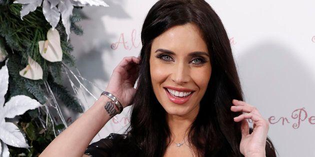 La presentadora Pilar Rubio, durante la inauguración de una tienda en Madrid el 14 de diciembre de