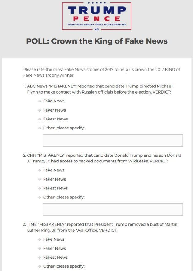 Trump organiza un concurso para
