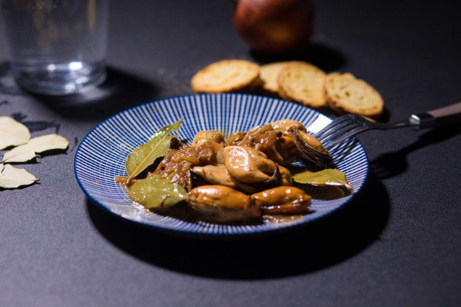 Recetas aperitivos: mejillones en