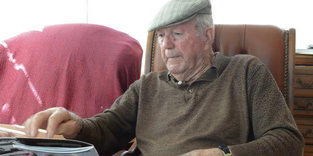 Francisco Griéguez, en una imagen del documental 'Sueño con Mauthausen', en el que narraba su