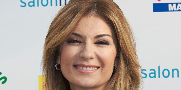 Sandra Golpe, presentadora de informativos de