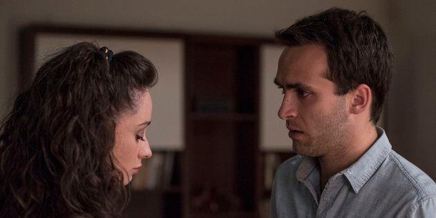 Ricardo Gómez y Elena Rivera, en el último capítulo de