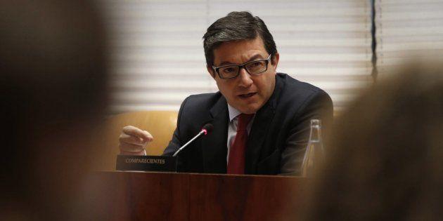 Pedro Calvo, exteniente de Alcalde de Madrid y expresidente del Canal de Isabel II, en una imagen de...